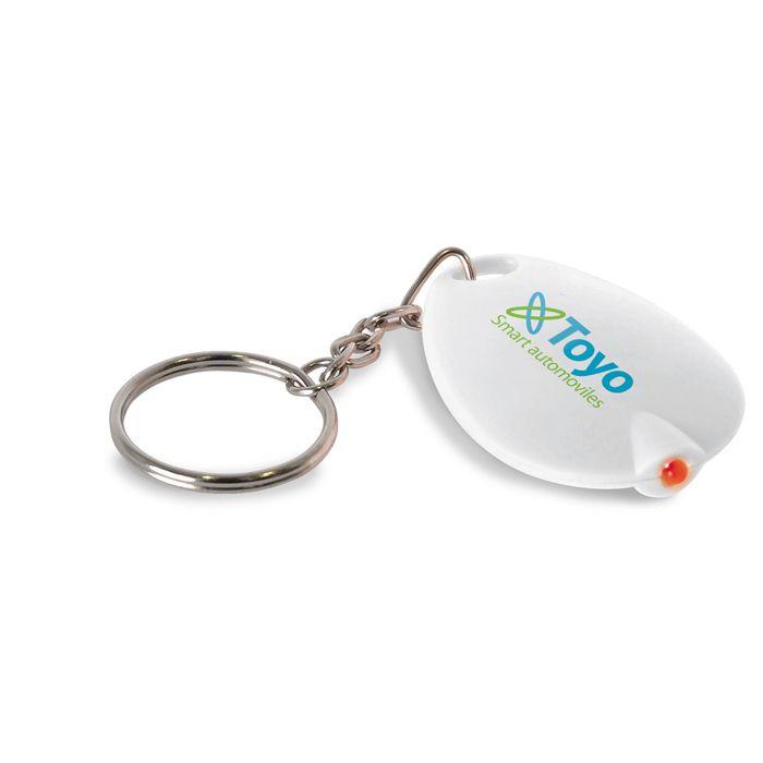 Schlüsselanhänger/LED-Lampe - Werbeartikel Schlüsselanhänger mit LED ...